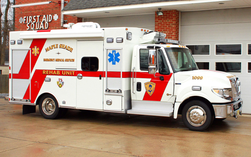 Ford International Truck >> Maple Shade EMS